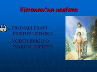 Vjeronaučna nastava