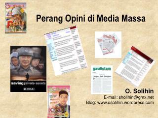 Perang Opini di Media Massa
