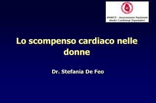 Dr. Stefania De Feo