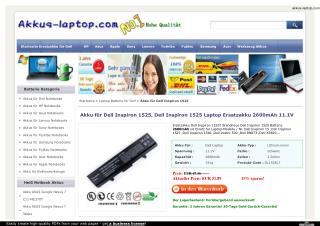 Akku für Dell Inspiron 1525, Dell Inspiron 1525 Laptop Ersat