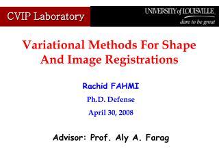 Rachid FAHMI Ph.D. Defense April 30, 2008