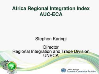 Africa Regional Integration Index  AUC-ECA