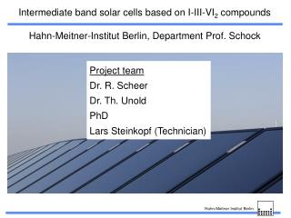 Intermediate band solar cells based on I-III-VI 2  compounds