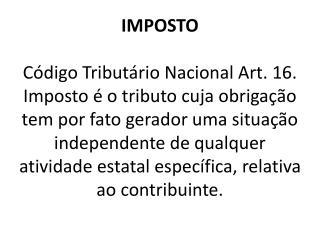 IMPOSTO+e+TAXA
