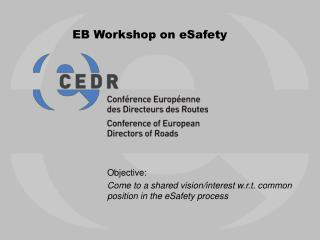 EB Workshop on eSafety