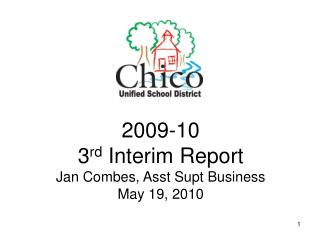 2009-10 3 rd  Interim Report Jan Combes, Asst Supt Business     May 19, 2010