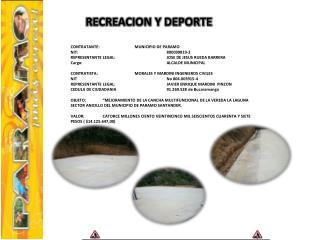 CONTRATANTE: MUNICIPIO  DE PARAMO NIT: 800099819-2