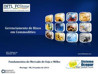 Gerenciamento de Risco em Commodities