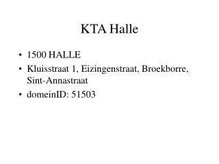 KTA Halle