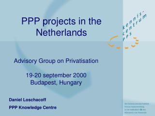 PPP projects in the Netherlands