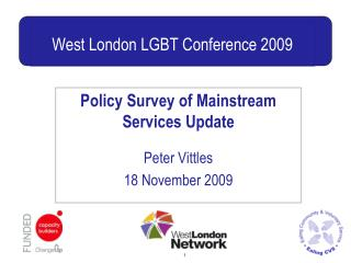 West London LGBT Conference 2009