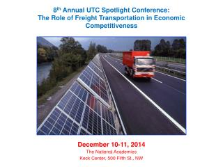 December 10-11, 2014 The National Academies Keck Center, 500 Fifth St., NW