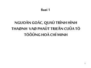 Baøi 1