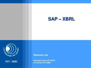 SAP � XBRL