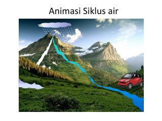 Animasi Siklus air