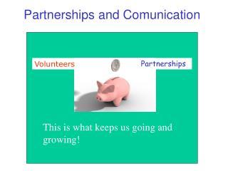 Partnerships and Comunication