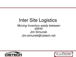 Inter Site Logistics