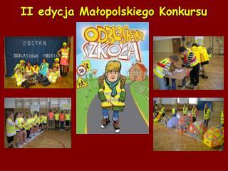 II edycja Małopolskiego Konkursu