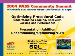 Optimizing Procedural Code
