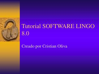 Tutorial SOFTWARE LINGO 8.0