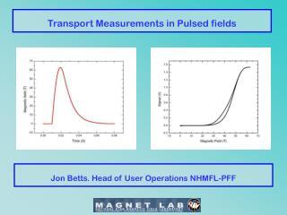 Transport Measurements in Pulsed fields