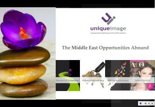 The Middle East Opportunities Abound