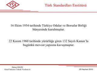 T rk Standardlari Enstit s