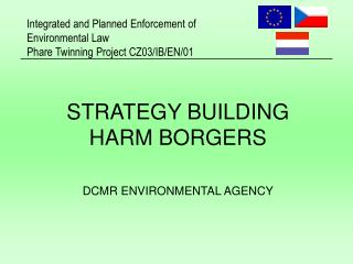 STRATEGY BUILDING HARM BORGERS