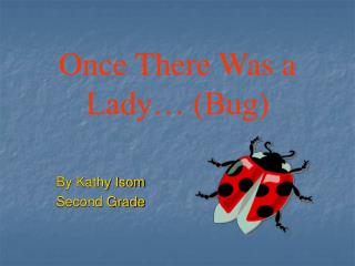 Once There Was a Lady  Bug