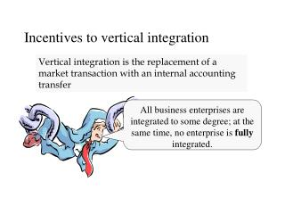 Incentives to vertical integration