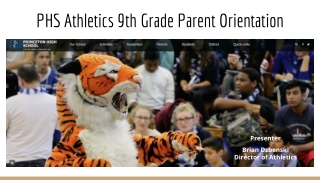 9th Grade Parent Orientation