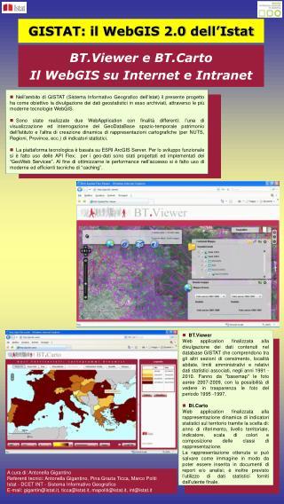 GISTAT: il WebGIS 2.0 dell'Istat