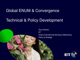 Global ENUM & Convergence  Technical & Policy Development