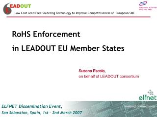RoHS Enforcement  in LEADOUT EU Member States