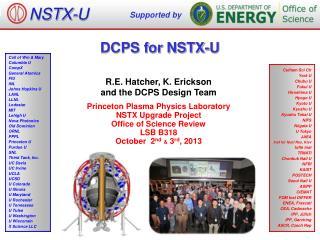 DCPS for NSTX-U