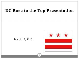 DC Race to the Top Presentation