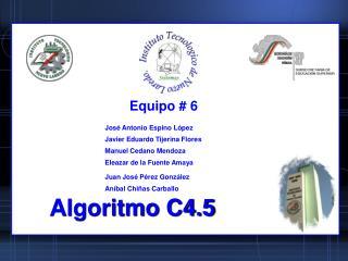 Algoritmo C4.5
