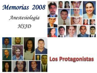 Los Protagonistas