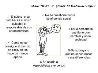MARCHENA, R.  (2004): El Modelo del Déficit