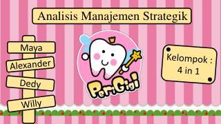 Analisis Manajemen Strategik