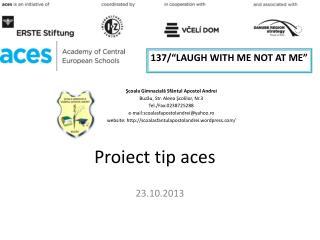 Proiect  tip aces