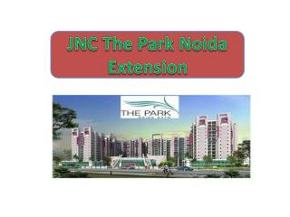 9873180237!!JNC THE PARK Project 2bhk apts -Noida Extension