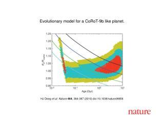 HJ Deeg  et al. Nature 464 , 384-387 (2010) doi:10.1038/nature08856