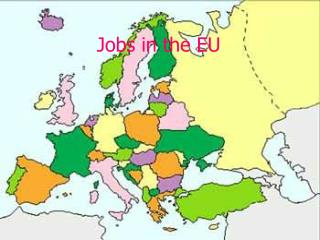 Jobs in the EU