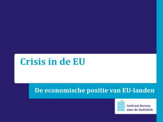 De economische positie van EU-landen