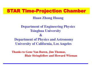 STAR Time-Projection Chamber