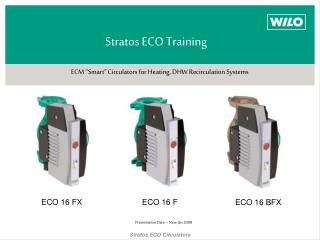 Stratos ECO Training