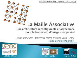 Julien  Denoulet  – Université Pierre et Marie Curie – Paris Julien.denoulet@upmc.fr