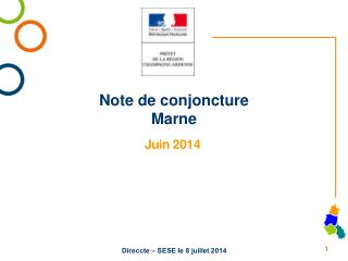 Note de conjoncture Marne