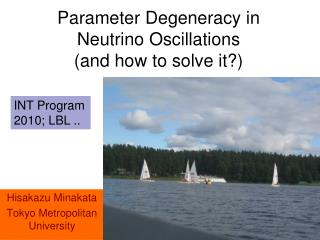 Parameter Degeneracy in Neutrino Oscillations  (and how to solve it?)